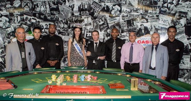Avec l'équipe du Casino de Saint-Denis
