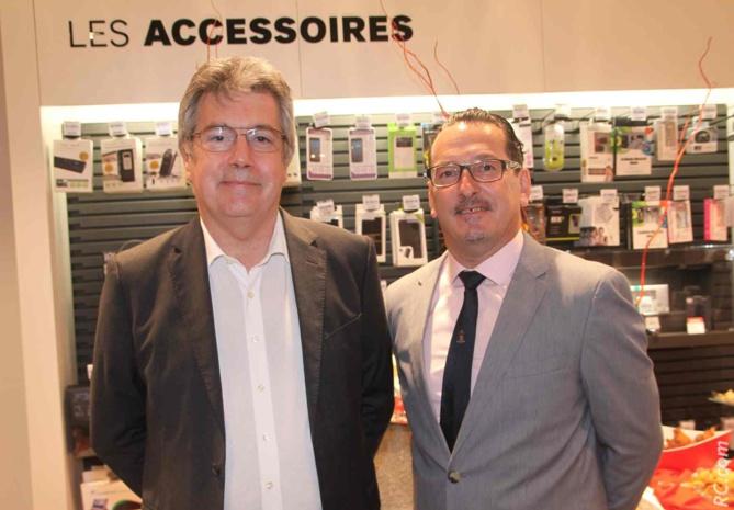 Patrick Josset, directeur général adjoint à la SRR, et Laurent Piédimonte, PDG de Adecom's