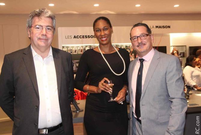 Patrick Josset,  Aïdy Pfuetzenreuter et Laurent Piédimonte