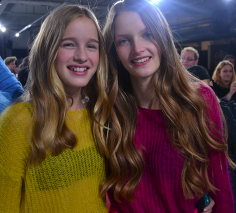 Léia et Anouk, la gagnante