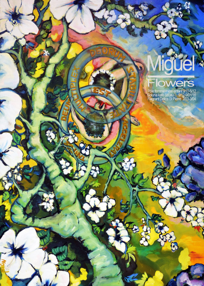 "Expo ""Flowers"" de Miguel"
