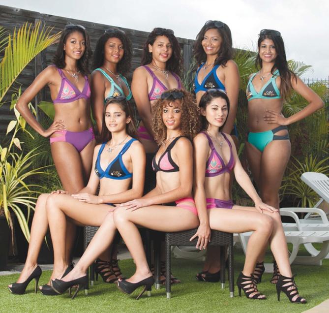 Miss Réunion Est samedi 12 décembre<br>Les 8 candidates