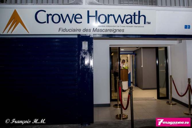 Les nouveaux locaux de Crowe Horwath Fiduciaire des Mascareignes rue Roland Garros