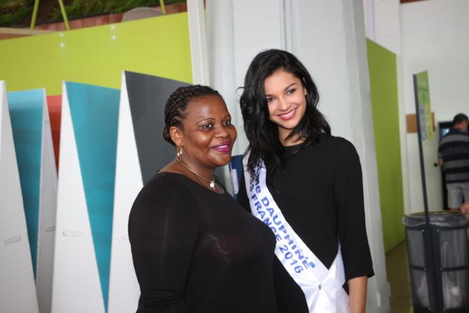 Azuima Issa, dauphine de Miss France, de retour sur l'île