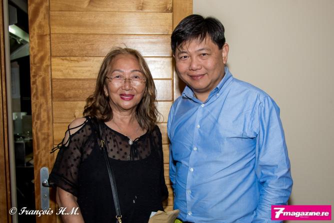 Madame Fock Sun et Pascal Thiaw Kine