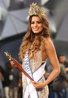 Elle a été élue Miss Colombie 2015
