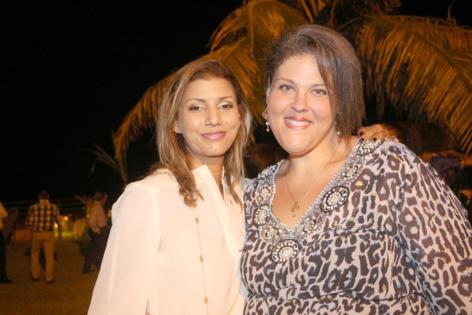 Gessica Pitou et Nicole Dambreville