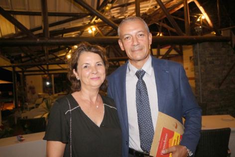 Jean-François Lebon et son épouse