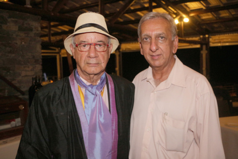 Edmond Lauret et Aziz Patel