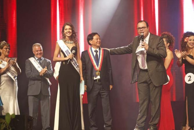 Miss Plaine des Cafres 2016<br>Sandrine Folio élue