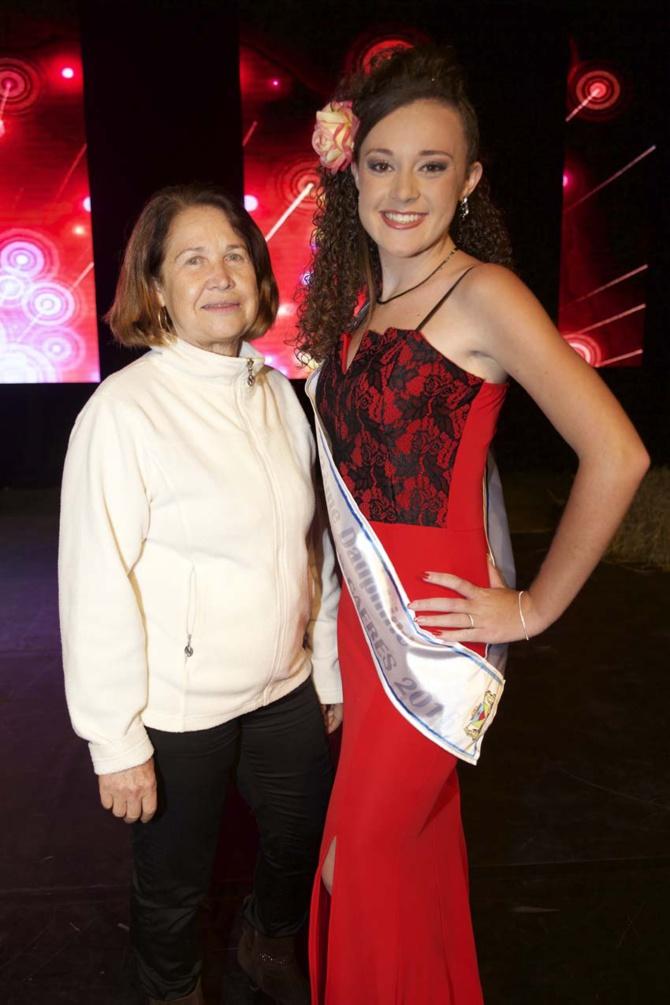 Coralie Boyer-Lallemand avec sa mère