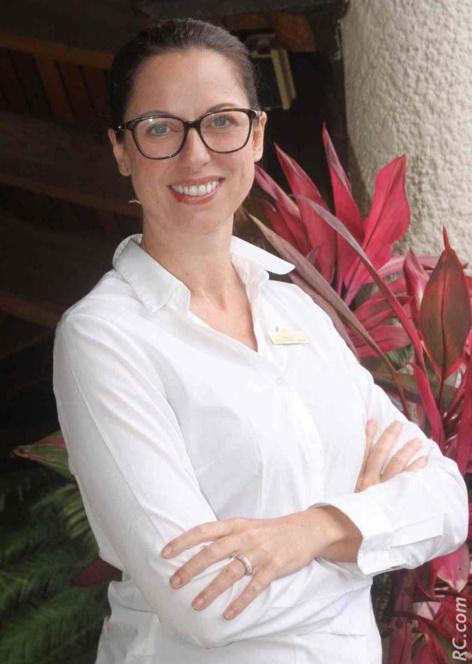 D'origine belge, Moïra Meo a dit banco lorsqu'on lui a proposé de vivre l'aventure du Maritim Resort Spa. Elle s'y plaît, comme un poisson dans l'eau et n'est apparemment pas prête de faire ses bagages.