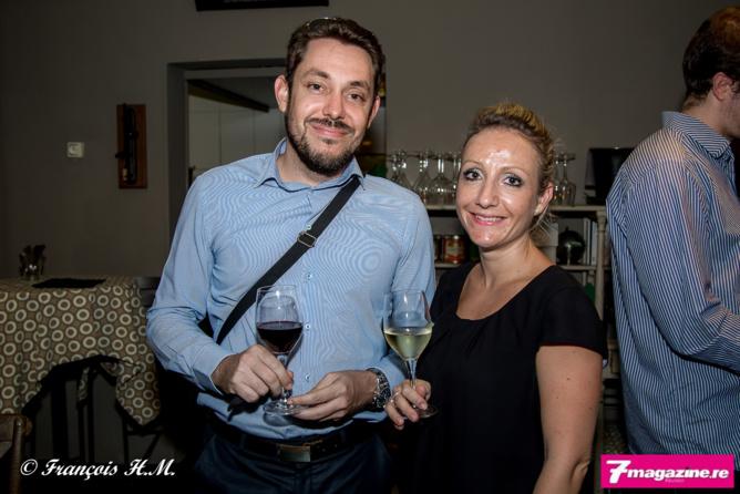 Christophe Lagarce et CécileVITY, tous deux d'April Partenaires Réunion
