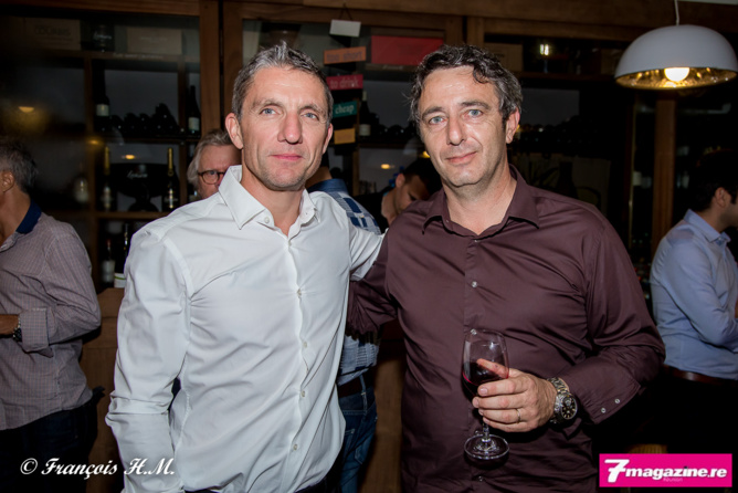 Michel Petiot et Christophe Bossy