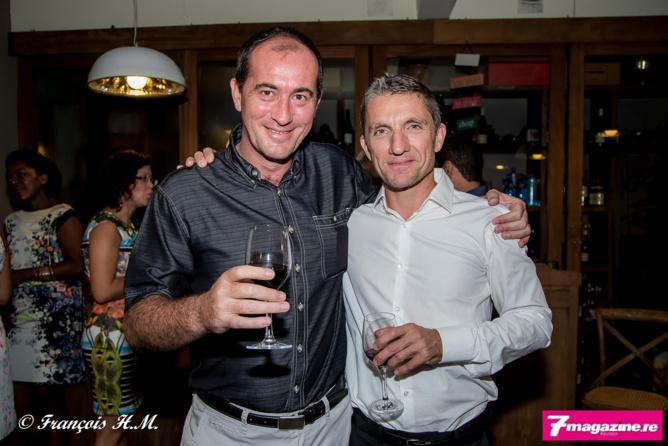 Michel Petiot et Dimitri Mathis de Saint-Gilles Assurances