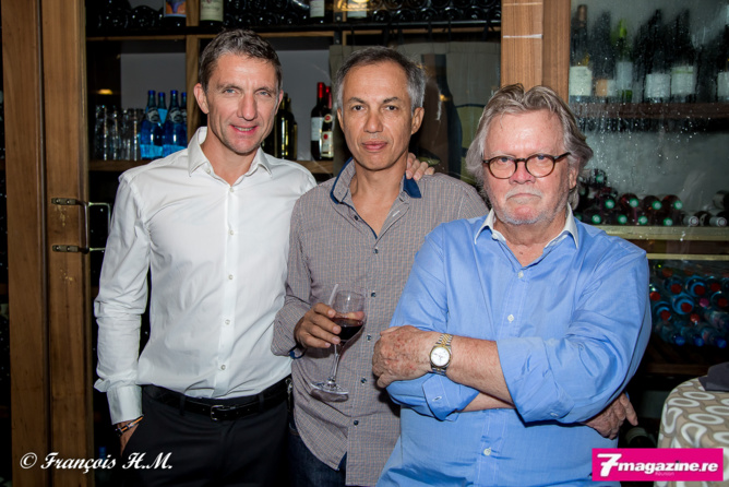 Michel Petiot, Gino Martin et Gérard Hoarau