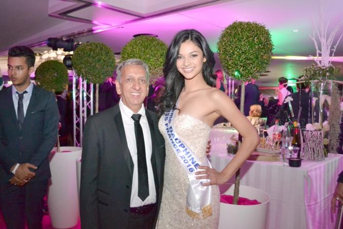 Aziz Patel, délégué Miss France, très satisfait du résultat de Miss Réunion