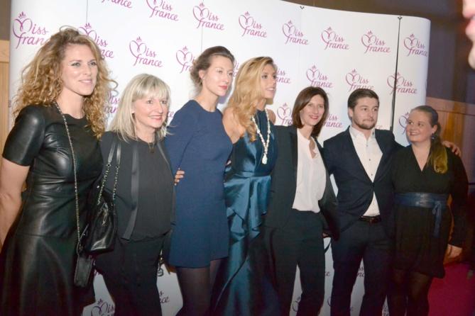 Camille Cerf avec sa famille et ses amis
