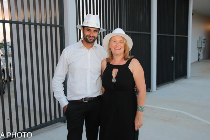 Olivier Boury, responsable marketing CMM, Sylvia TOUTOUS, gestionnaire marketing