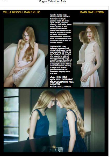 Autres pages de Vogue Italia