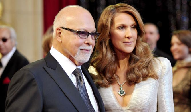 Le mari de Céline Dion a lui-même organisé son enterrement