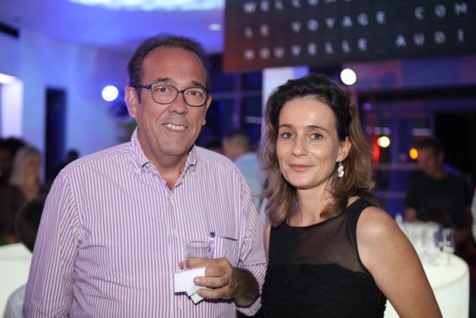 Benoît Rimbaud, directeur de Caprisone et Florence Sireyjol