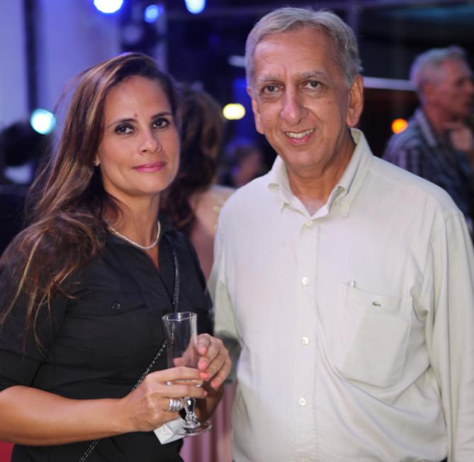 Aurélie Visval et Aziz Patel