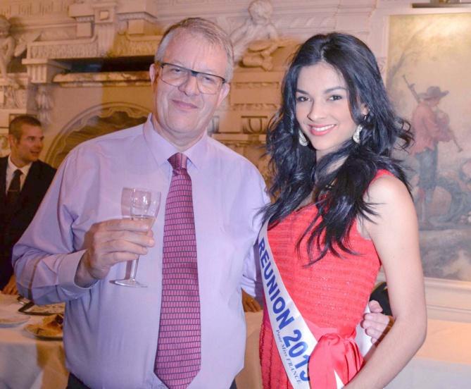 Philippe Lorin, Expert Comptable (EC) Réunion et Miss Réunion 2015