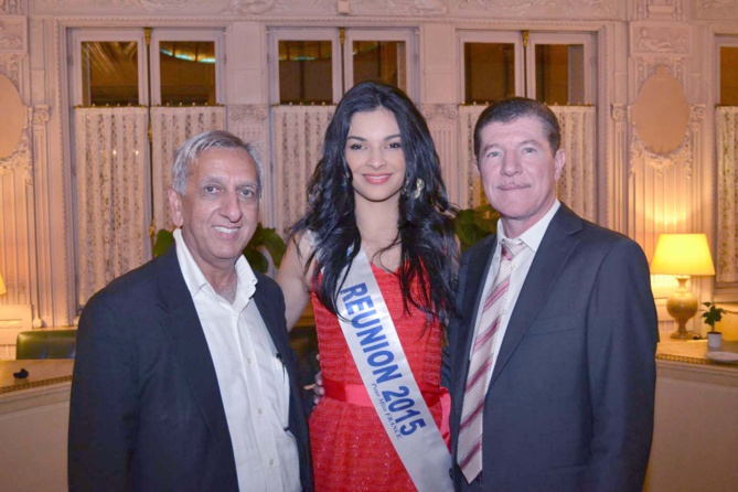 Aziz Patel, Azuima Issa et Marcelino Burel
