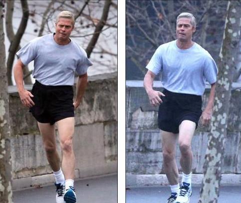 Brad Pitt pas chouette sur son dernier tournage!