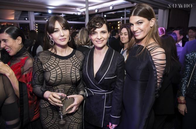 Monica Bellucci, Juliette Binoche, Bianca Brandolini D'Adda