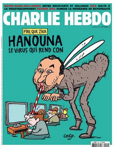 Hanouna flingué par Charlie Hebdo