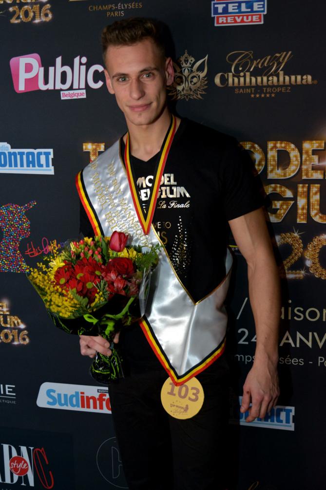 Senior Top Boy Mannequin: Dorian Lauricella