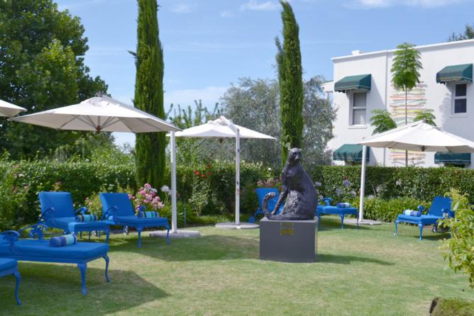 Les jardins du Majeka House