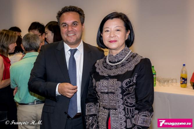 Didier Robert et Guo Wei