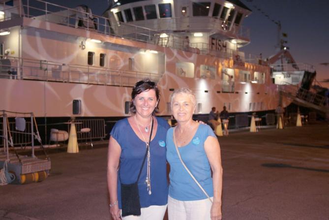 Céline Defosse et Katherine Chatel de l'agence Odyssée