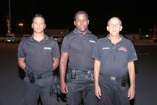 Le service de sécurité de la soirée