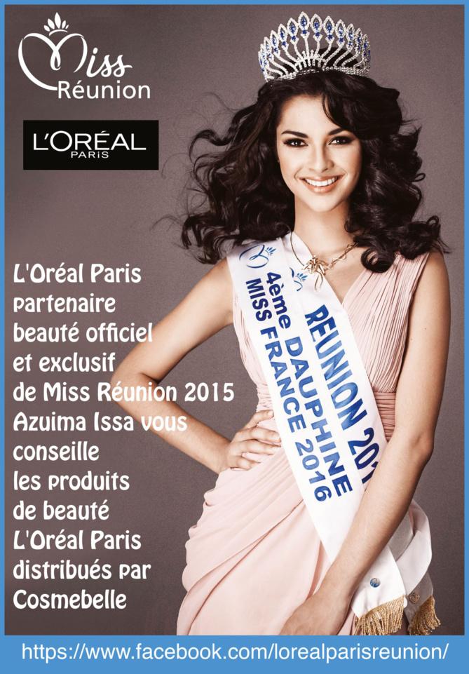 L'Oréal Paris partenaire beauté de Miss Réunion