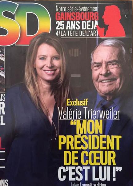 Valérie Trierweiler méconnaissable