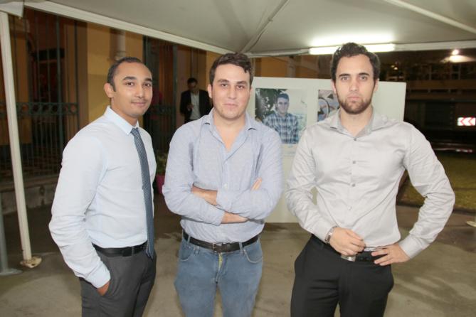 Arthur Boivin et des membres de Junior Univ'R