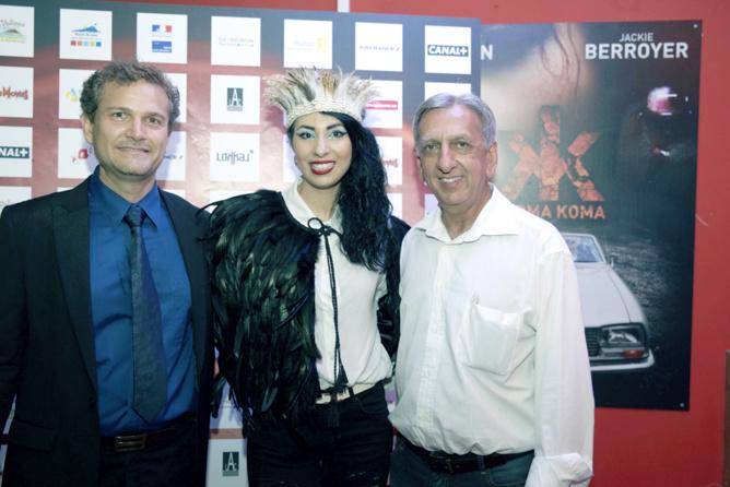 Olivier Rivière, Aurélia Mengin et Aziz Patel