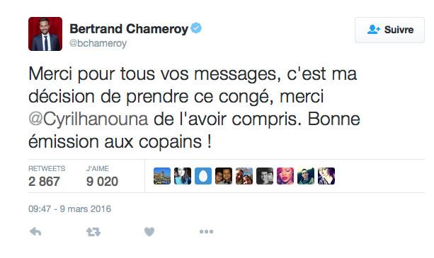TPMP: Bertrand Chameroy tord le cou à la rumeur