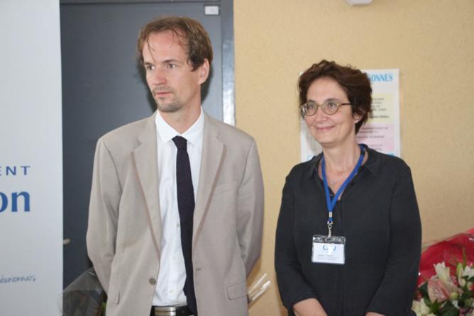 David Gruson et Suzanne Cosials
