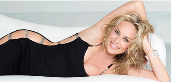 A 58 ans, Sharon Stone sans fard