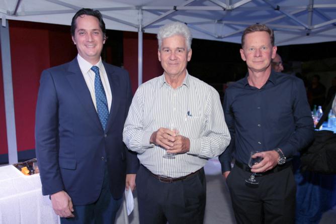 Rodolphe Hayot, Jacques de Virginy et Marc Tezenas