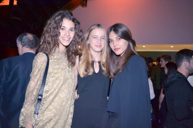 Pauline Hoarau, Léia Matagne et Mariléa