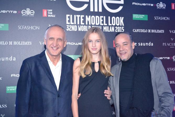 Jean-Pierre, Léia et un agent Elite