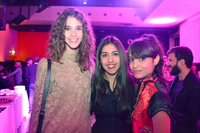 Pauline, Mariyah et Léa