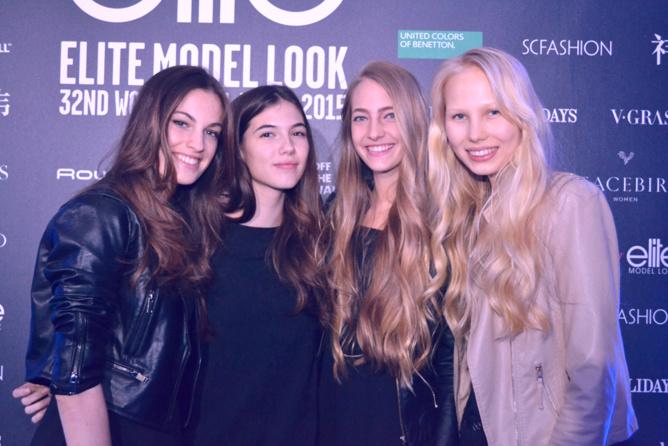 Quatuor de jolies filles...