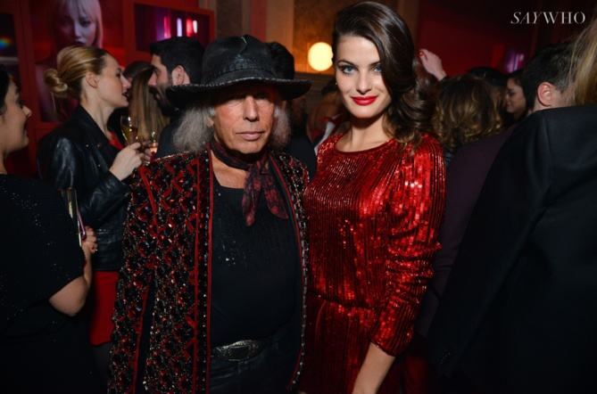 James Goldstein et Isabeli Fontana